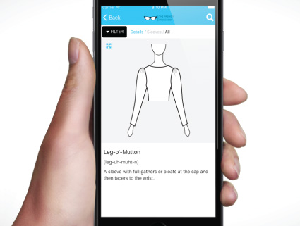 Fashion Picture Dictionary App