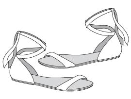 Wrap Sandal